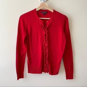 Banana Republic red button up cardigan